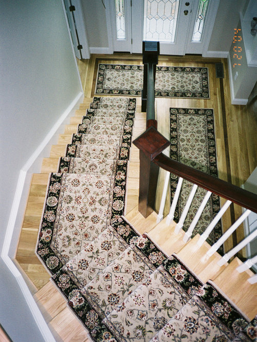 Stair Runners With Matching Area Rugs And Hall Runners