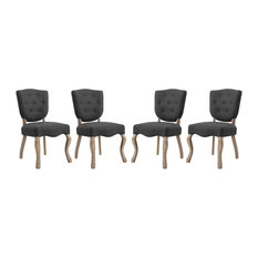 Array Dining Side Chair Set of 4, Gray