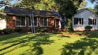 GAF Timberline Charcoal roof replacement and installation