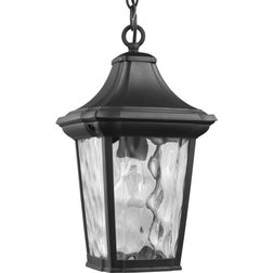 Transitional Outdoor Hanging Lights by Lampclick