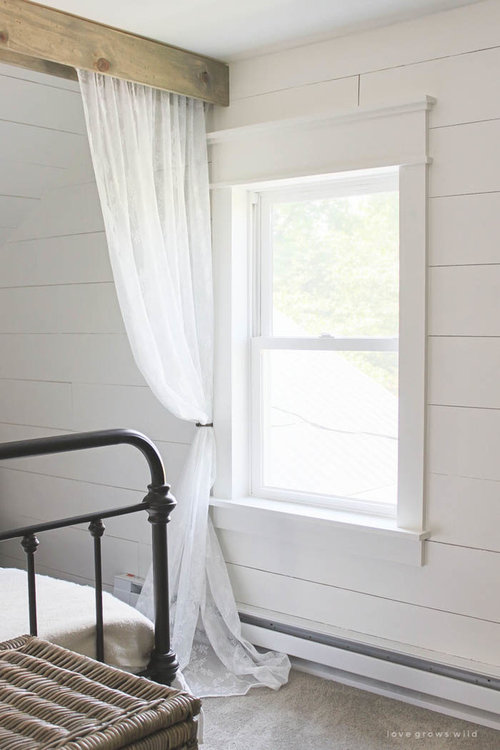 Farmhouse Trims For These Windows And Doors