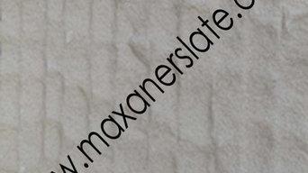 Wave style antique mint sandstone tile from Maxaner International