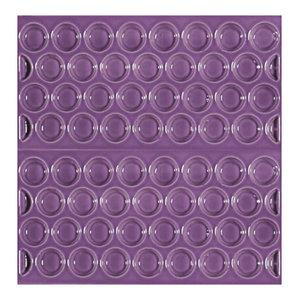 Adobe Textured Subway Tiles, Purple, Set of 11