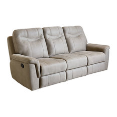 Boardwalk Sofa, Manual Motion-Fabric Stone