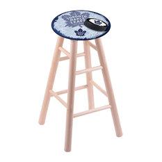 Toronto Maple Leafs Stool Natural