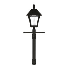 Baytown Solar Lamp Post With EZ-Anchor Base, Single Lamp