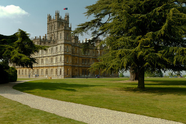 The gardens at Highclere Castle