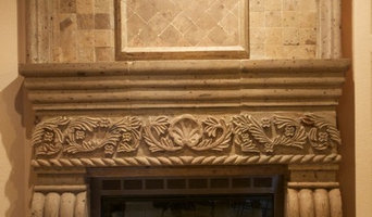 Cantera Fireplaces and Columns