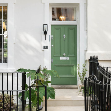 Relaxed family home in Kensington, W8