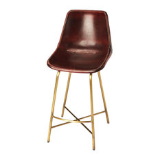 Butler Specialty Company - Commercial Leather Bar Stool - Multi-Color - Bar Stools and Counter Stools