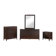Night And Day Furniture Home Bedroom Zest Nightstand Chocolate