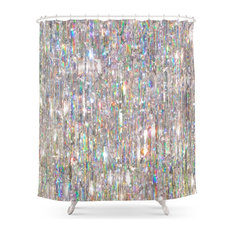 Society6   To Love Beauty Is To See Light, Crystal Prism Abstract, Shower  Curtain