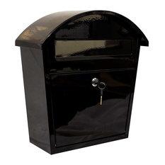 QualArc Ridgeline Locking Mailbox WF-PM16, Black