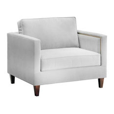 Anderson King Chair, Stone