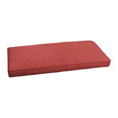 Sunbrella Terra Cotta Indoor/Outdoor Bench Cushion, 60x19