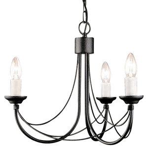 Carlsbrooke Chandelier, 3 Lights