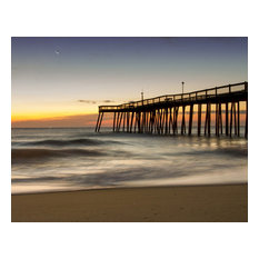 """Motion of the Ocean"" Landscape Photo, Beach Unframed Wall Art Print, 11""x14"""