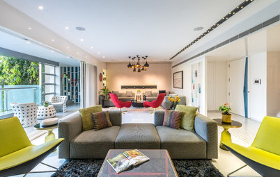 Mumbai Houzz: A Contemporary Home for a Family of 10