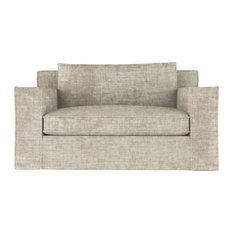 Mulberry 5' Crushed Velvet Sofa Oyster Extra Deep