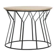 Alcott Retro Mid-Century Wood End Table