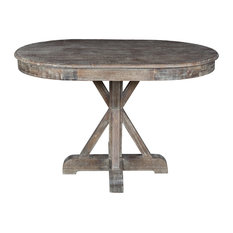 Kosas Home Gerald 47 Pine Oval Dining Table Tables