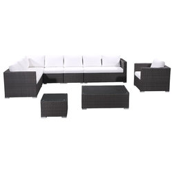Modern Outdoor Lounge Sets by Velago Furniture Outlet