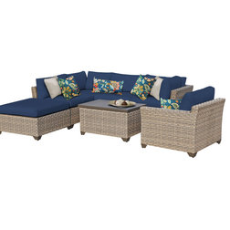 New Tropical Outdoor Lounge Sets by Design Furnishings