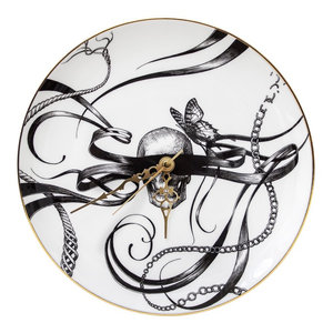 Masked Skull Clock, Small