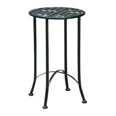 Mandalay Iron Round Table,Verdi Green
