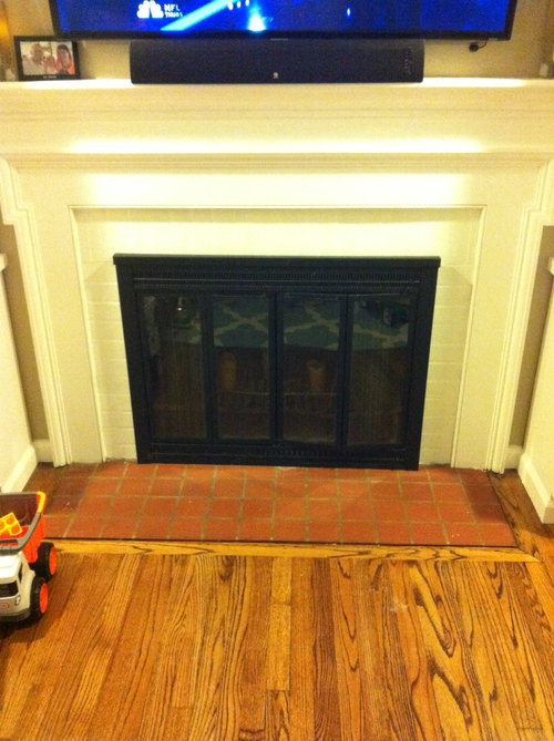 What Tile To Use In Front Of Fireplace