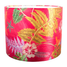 Now That's Something Hot Pink Floral Lampshade For Table Lamp, Large