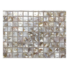 Chois B01 Mother Of Pearl Shell Backsplash Square Mosaic Arts Freshwater Tiles