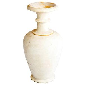 Natural White Marble Vase
