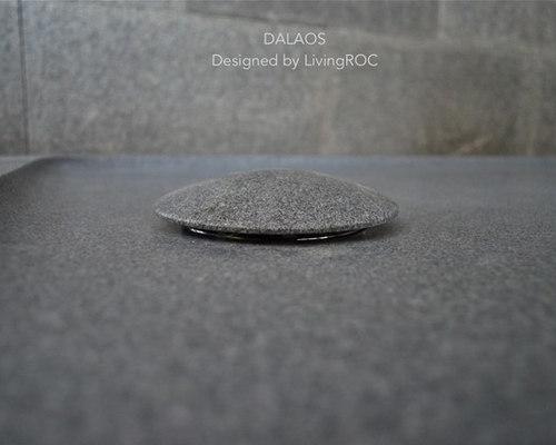 Receveur de douche 180x90 à l\'italienne taillé dans le granit : DALAOS