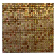 "11.38""x11.38"" Peel and Stick Backsplash Tile, ""The Palace"", Single Tile"