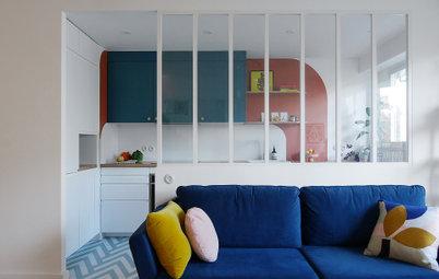 Avant/Après : Un appartement parisien de 54 m2 haut en couleur