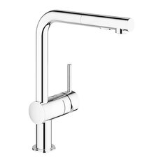 Grohe 30 300 Minta Pull-Out Spray Kitchen Faucet - Chrome
