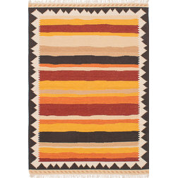 Southwestern Area Rugs by RolledRugs