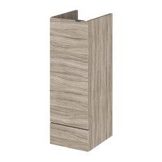 Bathroom Vanity Unit Base, Driftwood, 30 cm