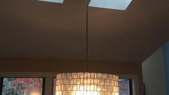 Smith's dining lighting renovation