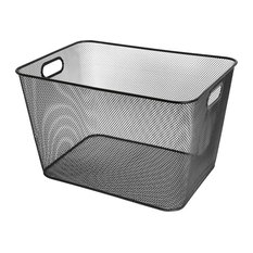 Mesh Open Bin Storage Basket Organizer for Fruits, Vegetables, Pantry items Toys