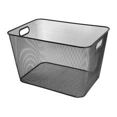 Mesh Open Bin Storage Basket Organizer for Fruits, Vegetables, Pantry items Toys