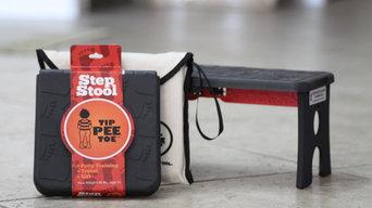 Tip Pee Toe Folding Children's Step Stool