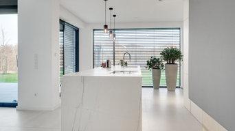 Moderne Küche in Marmordesign | Wolfsburg