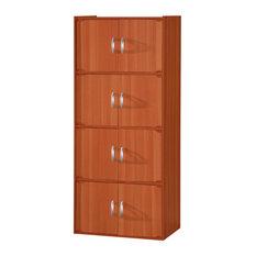 8-Door Storage Cabinet, Cherry
