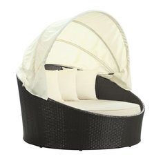 Modway Siesta Canopy Outdoor Patio Daybed EEI-642-EXP-WHI