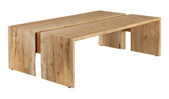Solid Ambrosia Maple Bi-Fold Coffee Table