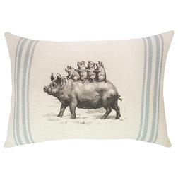Farmhouse Decorative Pillows by TheWatsonShop
