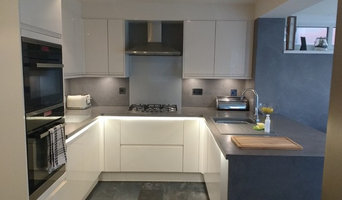Micro cement worktops and walls