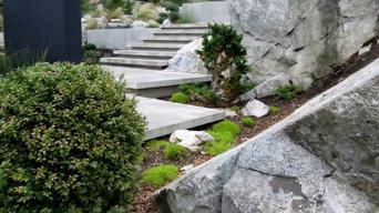 Contemporary Coastal Garden